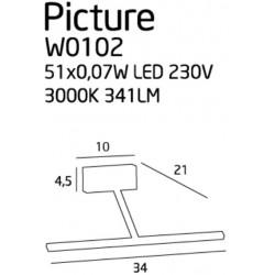 Leaves SP12 - Ideal Lux - lampa wisząca