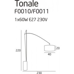 LUCE MAX TL1 IDEAL LUX
