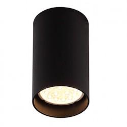 Pet Round New C0142 lampa sufitowa czarna