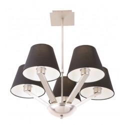 ORLANDO lampa wisząca czarna 5103/5A BK/NM
