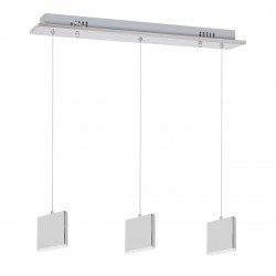 LAMPA WISZĄCA CUADRA 3X5W LED