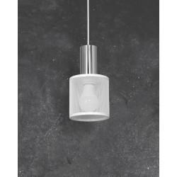 Lampa Wisząca ARES WHITE 1xE27