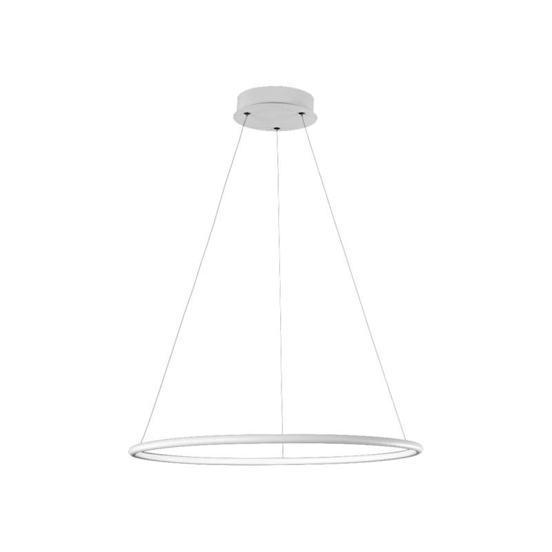 LAMPA WISZĄCA ORION WHITE 22W LED. BARWA: NEUTRALNA