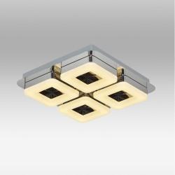 Ledowa plafoniera ozcan 5632-4 lampa led plafon ledowy 32w biały klosz