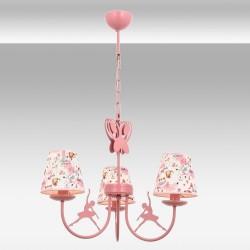 Dziecięca lampa wisząca żyrandol  avonni  av-1416-ballerina baletnica  motylek