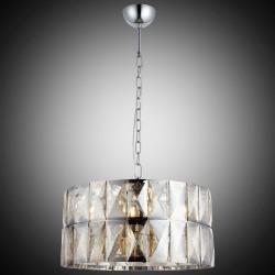 Kryształowy srebrny żyrandol lucea 1423-51-08 deva  hotel sala bankietowa restauracja salon
