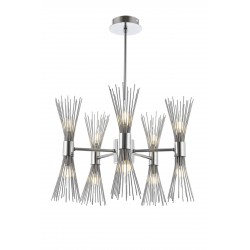 Designerska  lampa wisząca  avonni  AV-1718-5k hotel sala bankietowa restauracja