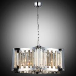 Nowoczesna kryształowa lampa wisząca lucea vigo 1424-51-06  salon sypialnia jadalnia