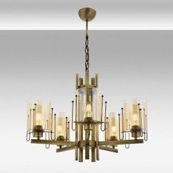 Klasyczna lampa żyrandol  avonni salon sypialnia jadalnia hotel sala bankietowa restauracja salon AV-1684-5E lampa