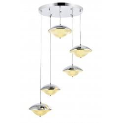 Nowoczesna lampa wisząca ALPI IKON 230-5K POWER LED SALON JADALNIA KUCHNIA SYPIALNIA