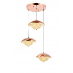 Nowoczesna lampa wisząca ALPI IKON 230-3B POWER LED SALON JADALNIA KUCHNIA SYPIALNIA