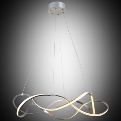 Nowoczesna designerska lampa wisząca lucea paolina 51872-02-pm6-nk cl led  salon sypialnia jadalnia