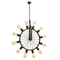 Designerska lampa wisząca koło  avonni av-1711-12e salon, jadalnia, kuchnia