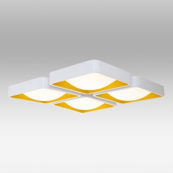 Biała lampa sufitowa  ozcan salon sypialnia jadalnia 3808-4 lampa