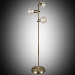 Nowoczesna patynowa industrialna lampa podłogowa loft  lucea ponte 1396-52-33  salon sypialnia jadalnia