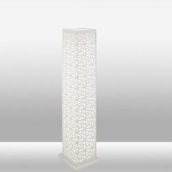 Biała ledowa lampa podłogowa 129cm ozcan 3720-5 lampa stojąca 4x9w