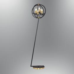 Lampa podłogowa vintage  ozcan  pokój salon  sypialnia 6475-L lampa