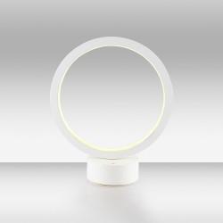 Biała lampka stolikowa led ozcan salon sypialnia jadalnia 3975ml-1 lampa
