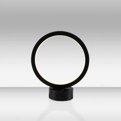 Czarna lampka stolikowa led ozcan salon sypialnia jadalnia 3975ml-1 lampa