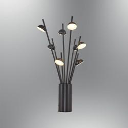 Nowoczesna czarna lampa stolikowa biurkowa 5378-ML ozcan  jadalnia salon sypialnia
