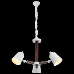 Biały żyrandol lucea evante 51763-01-p03-wt industrial  kuchnia jadalnia salon biuro pub restauracja loft loft kawiarnia