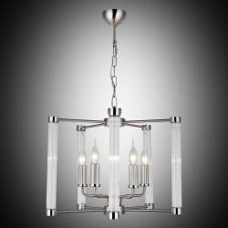 Klasyczna lampa żyrandol  lucea mandela 1407-50-05 salon sypialnia jadalnia  hotel sala bankietowa salon