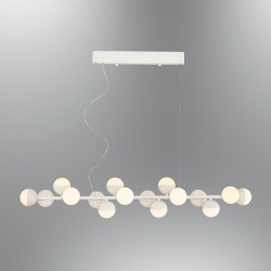 Lampa wisząca nowoczesna ozcan kuchnia  jadalnia salon sypialnia 5675 - 16s  lampa