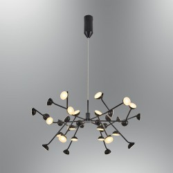 Czarna lampa wisząca nowoczesna 5378-36A ozcan kuchnia  jadalnia salon sypialnia