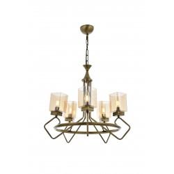 Niesamowita lampa wisząca AV-1740-5E  avonni salon sypialnia jadalnia