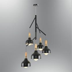 Lampa wisząca  ozcan salon sypialnia jadalnia 5021 - 5a  lampa