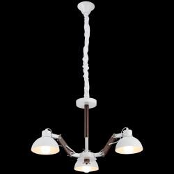 Biały żyrandol lucea bonaldo 51762-01-p03-wt industrial  kuchnia jadalnia salon biuro pub restauracja loft loft kawiarnia