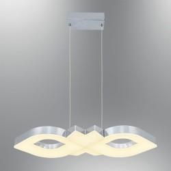 Lampa led wisząca ledowa żyrandol ozcan 5660-2as mocne światło