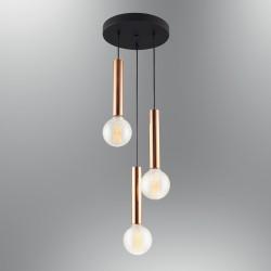 Lampa wisząca ozcan  jadalnia sypialnia salon 6445-3a lampy