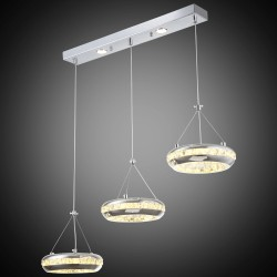 Nowoczesna lampa wisząca  lucea stone 51845-03-l03-cr  salon sypialnia jadalnia lampa