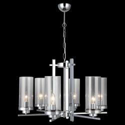 Klasyczna lampa żyrandol  lucea  elenora 1334-51-06 salon sypialnia jadalnia  hotel sala bankietowa salon