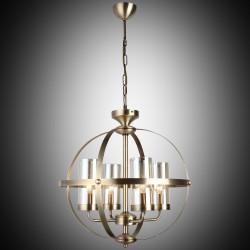 Klasyczna lampa żyrandol  lucea  fermo 1360-52-04 salon sypialnia jadalnia  hotel sala bankietowa salon