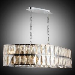 Kryształowy srebrny żyrandol lucea 1423-51-10-l deva  hotel sala bankietowa restauracja salon