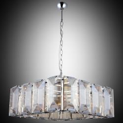 Kryształowy srebrny  żyrandol lucea 1414-51-28 talisca   hotel sala bankietowa restauracja salon