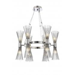 Designerska  lampa wisząca  avonni  AV-1721-6k hotel sala bankietowa restauracja