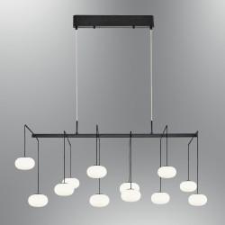 Lampa wisząca nowoczesna ozcan kuchnia  jadalnia salon sypialnia 5677 - 12AS