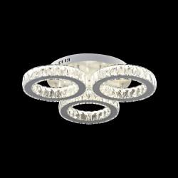 Elegancka  kryształowa sufitowa plafon lucea nestor 51619-05-c03-wt  led  salon sypialnia jadalnia hotel restauracja