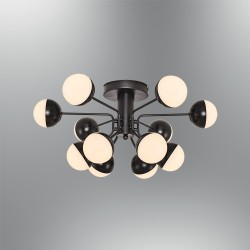 Plafon nowoczesny ozcan kuchnia  jadalnia salon sypialnia 5674 - 12  lampa