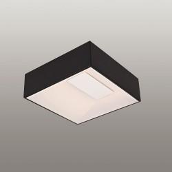 Czarna plafoniera lampa puzzle 33x33 ozcan 5656-2 plafon power led 28w
