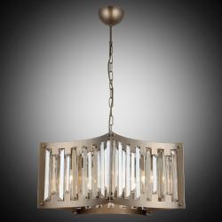 Nowoczesna kryształowa lampa wisząca lucea vigo 1424-73-05  salon sypialnia jadalnia