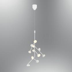 Biała lampa wisząca nowoczesna 5378-11A ozcan kuchnia  jadalnia salon sypialnia