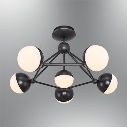 Plafon nowoczesny ozcan kuchnia  jadalnia salon sypialnia 5673 - 6  lampa