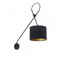Lampa VIPER black kinkiet...