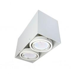 LAMPA SUFITOWA BLOCCO BIAA 2x7W GU10 LED