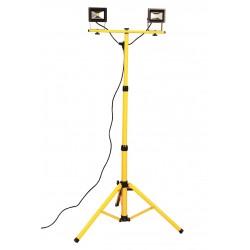 NAWIETLACZ LED 2x10W Statyw 1,8m