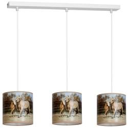 Lampa Wiszca HORSES 3xE27